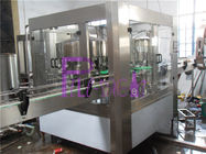 SUS304 Juice Milk / Can Filling Line With Negative Pressure
