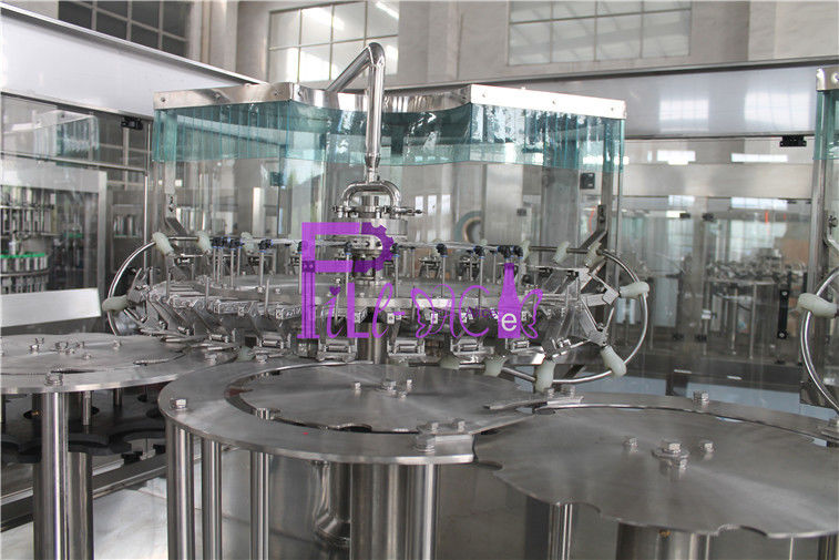 Fruit Juice Hot Filling Machine 3 In 1 Monoblock Washing Filling Capping Machine