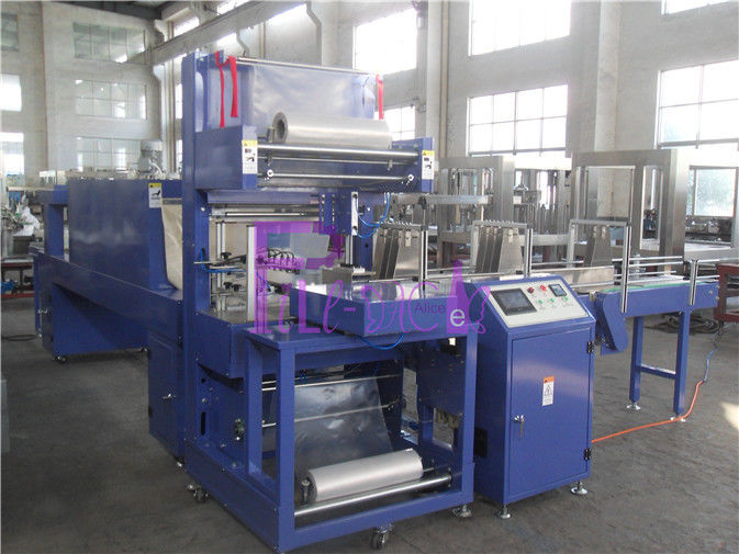 Mineral Water Plastic Bottle Packing Machine 5000BPH Shrink Wrapping Equipment
